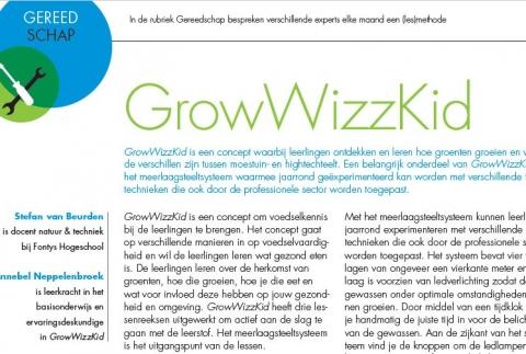GrowWizzKid is een aanwinst voor het basisonderwijs