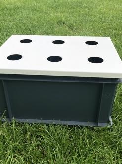 Waterteeltkrat – onderdeel GrowWizzKid systeem