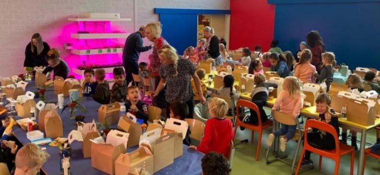 Gezonde lunches in theorie én in de praktijk bij IKC Het Kristal uit Dordrecht!