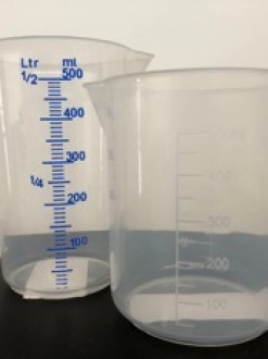 Maatbeker 0,5 liter